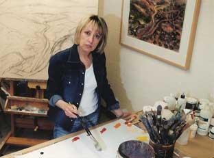 Ilana Bloch at work